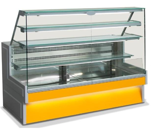 Hladilna vitrina za prodajo slaščic  RIVO VD 140