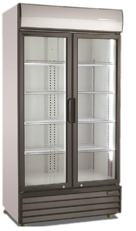Hladilnik pijač z drsnimi vrati NSD 1002 SLE/HE