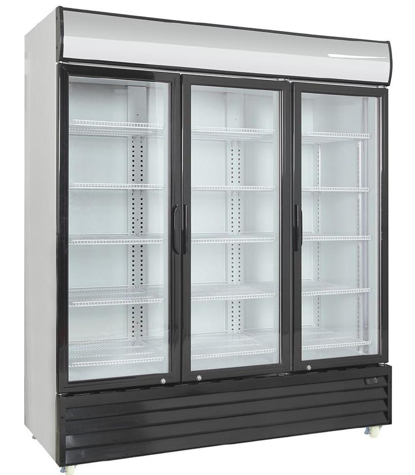 Dvojni hladilnik pijač s krilnimi vrati  SD 1001 H