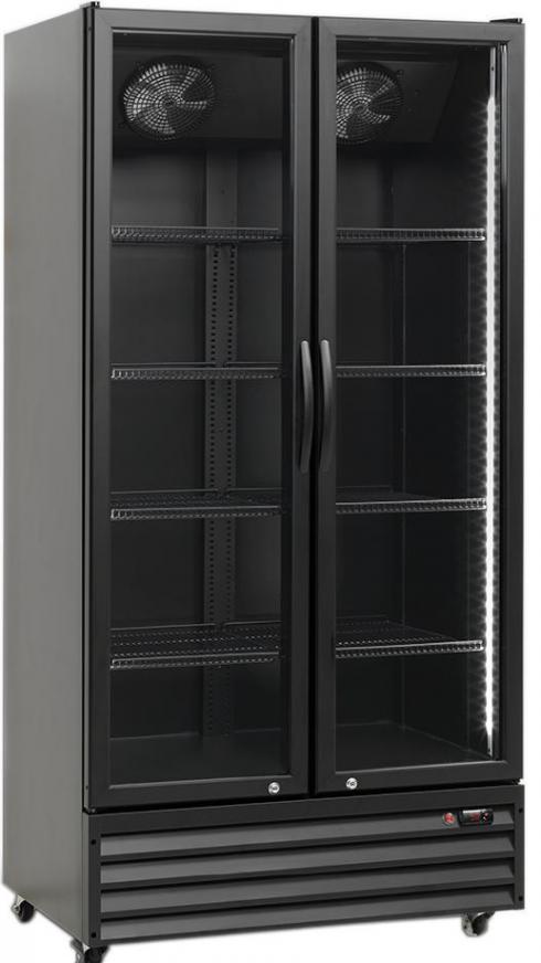 Dvojni hladilnik pijač s krilnimi vrati  NSD 826 BE