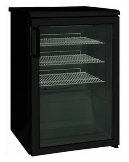 Namizni hladilnik za pijačo HP 140 BLACK