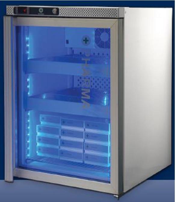 Hladilnik za medicino, farmacijo in laboratorije AKG 157 MED