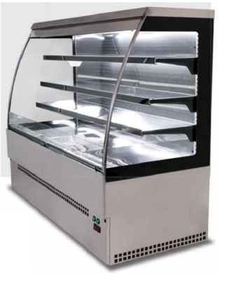 Odprti hladilnik EVO self 150