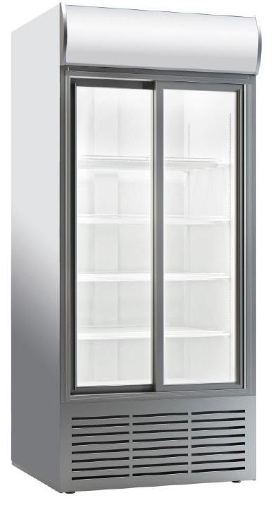 Dvojni hladilnik pijač  z drsnimi vrati  HP 900 D