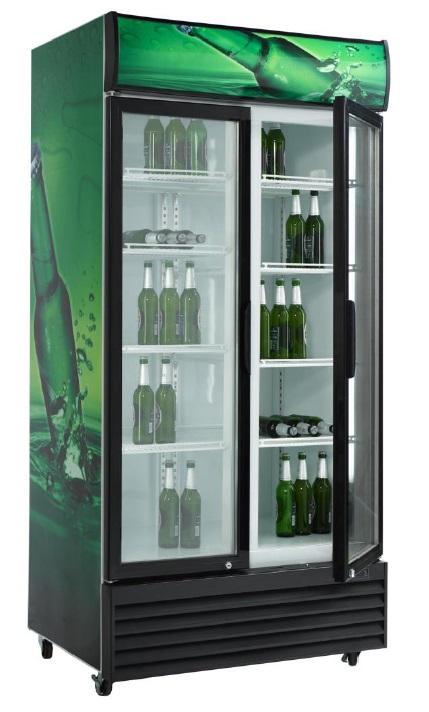 Dvojni hladilnik pijač s krilnimi vrati  SD 801 H