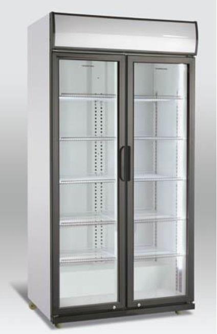 Hladilnik pijač z drsnimi vrati SD 801 SL