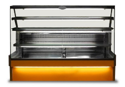 Hladilna vitrina za prodajo slaščic  RIVO VD 200