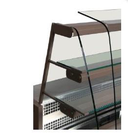 Hladilna vitrina za prodajo slaščic   RIVO VC 100