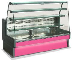 Hladilna vitrina za prodajo slaščic  RIVO VI 100