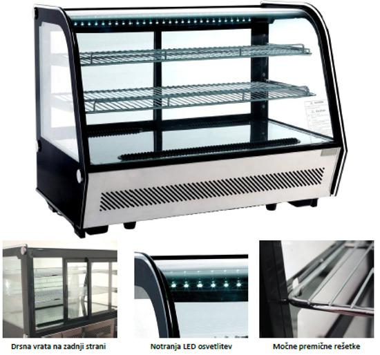 Hladilna vitrina RTW 160