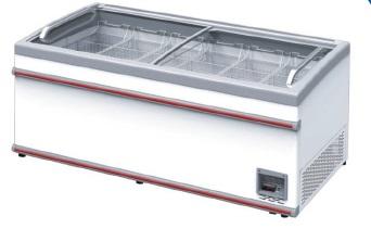 Zamrzovalna skrinja za prodajalne XS 701